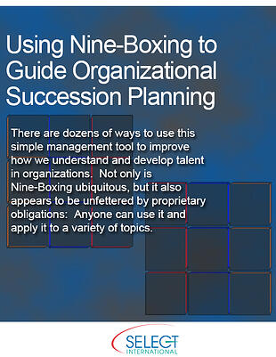 Using Nine-Boxing to Guide Organizational Succession Planning